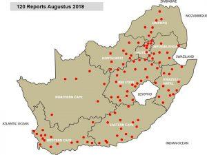 Disease Report - August 2018